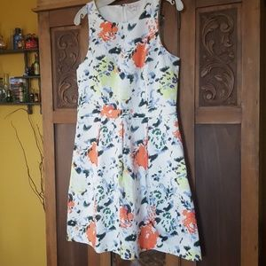 Adorable size 12 colorful summer dress